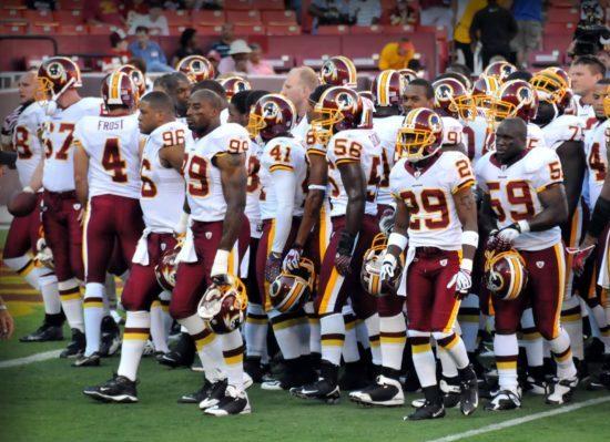 Washington Redskins players football nfl