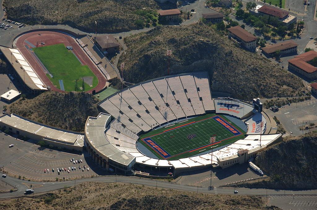 Kidd Field east of Sun Bowl Stadium