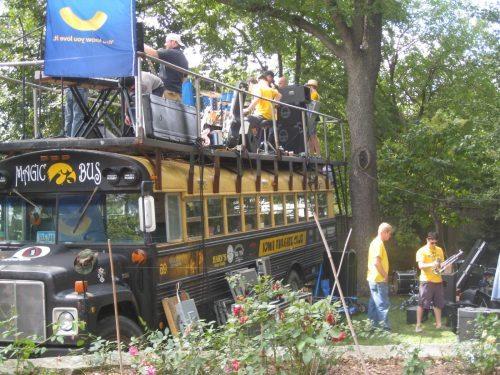 Magic Bus Iowa Hawkeyes
