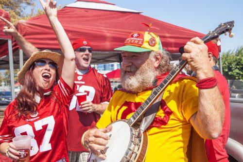 Banjo Man San Francisco 49ers fans