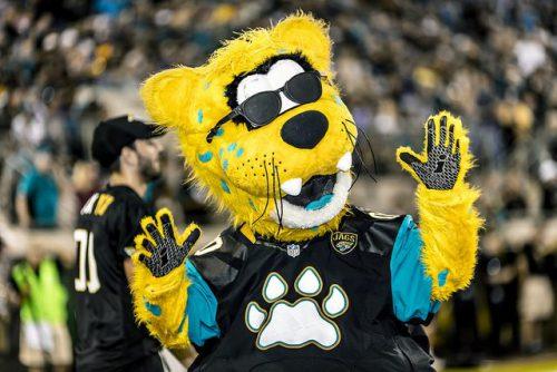 Jaxson de Ville Jacksonville Jaguars mascot