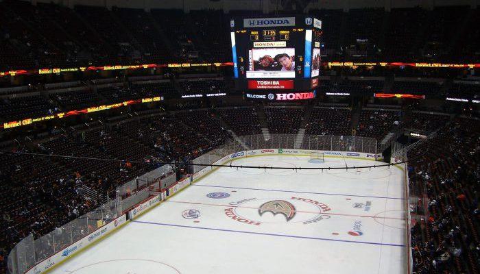 Honda Center Anaheim Ducks home opener