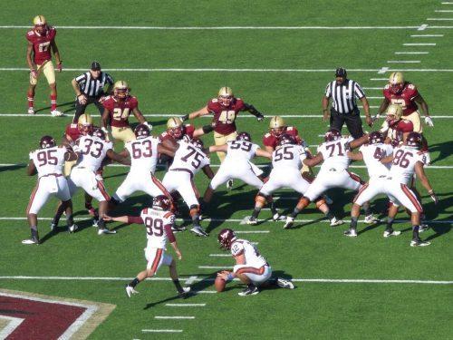 Boston College Eagles vs Virginia Tech Hokies football game