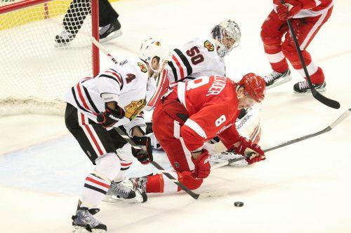 Chicago Blackhawks vs Detroit Red Wings game