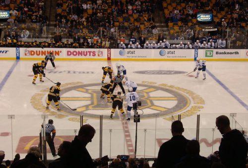 Boston Bruins vs Toronto Maple Leafs game