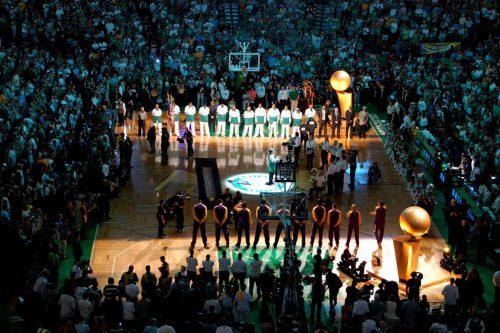 Boston Celtics vs LA Lakers game