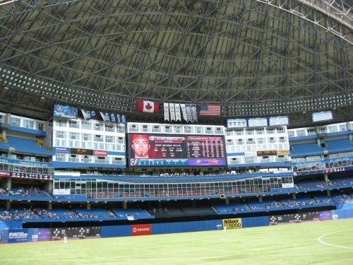 Championship and Retired Number Banners Rogers Centre