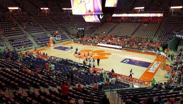 Clemson Tigers Basketball Littlejohn Coliseum