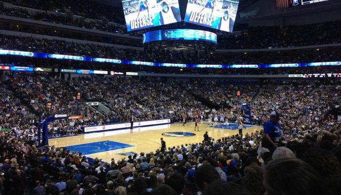 Dallas Mavericks game scoreboard