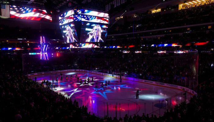 National Anthem Dallas Stars