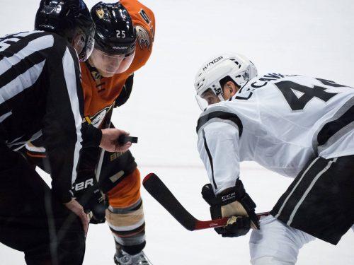 Anaheim Ducks vs Los Angeles Kings game