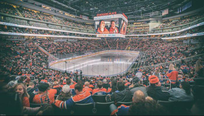Edmonton Oilers fans Rogers Place