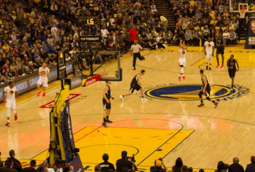 Los Angeles Clippers vs Golden State Warriors game
