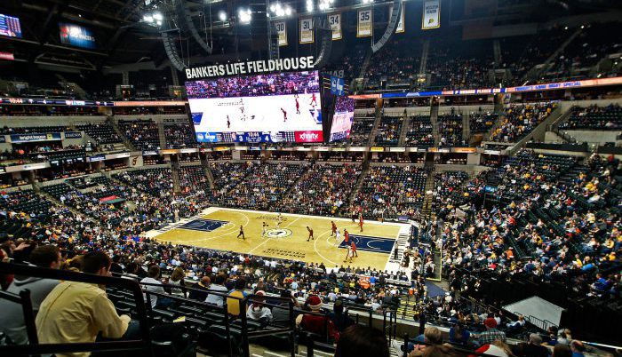 Indiana Pacers game Bankers Life Fieldhouse