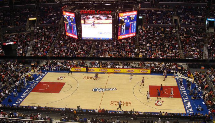 Los Angeles Clippers vs New York Knicks game
