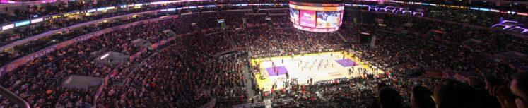 Staples Center LA Lakers