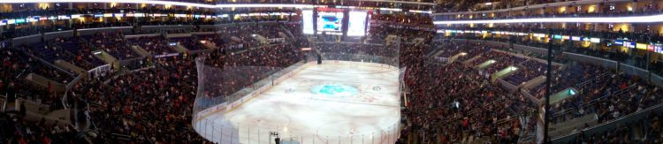 Los Angeles Kings game at Staples Center