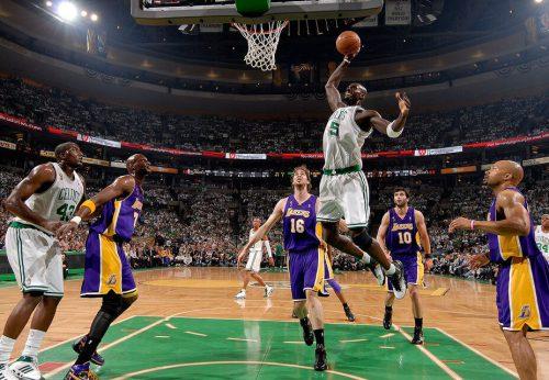 Los Angeles Lakers vs Boston Celtics game