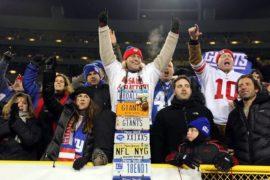 NFL New York Giants fan License Plate Guy