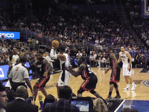 Orlando Magic vs Miami Heat game