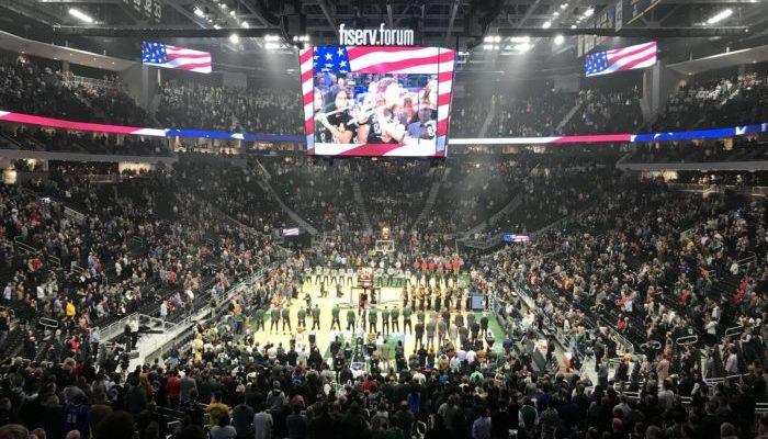 Milwaukee Bucks Fiserv Forum