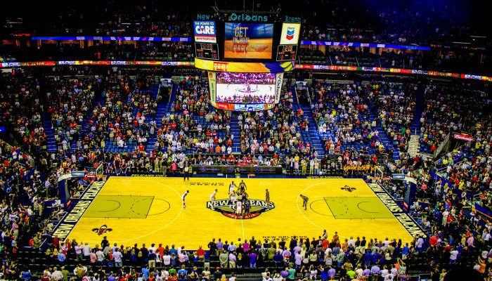 Smoothie King Center New Orleans Pelicans game