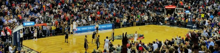 New Orleans Pelicans vs San Antonio Spurs game