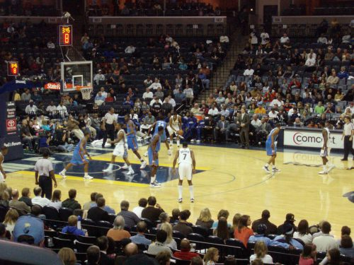 Oklahoma City Thunder vs Memphis Grizzlies game