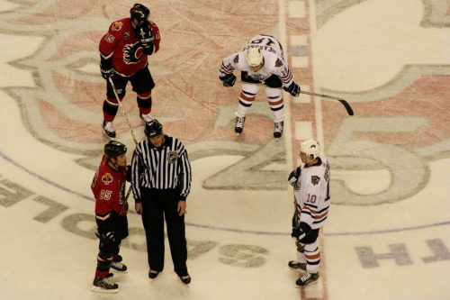 Edmonton Oilers vs Calgary Flames game
