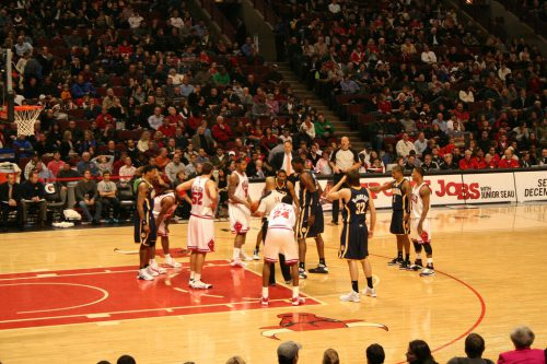 Indiana Pacers vs Chicago Bulls game