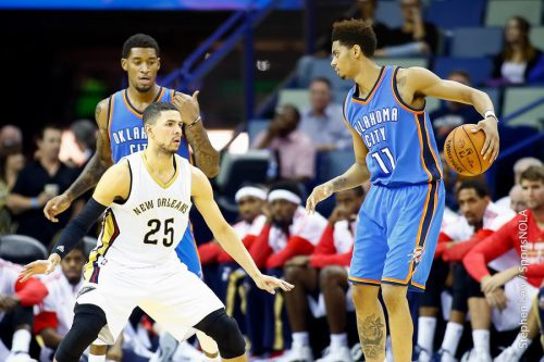 New Orleans Pelicans vs Oklahoma City Thunder game