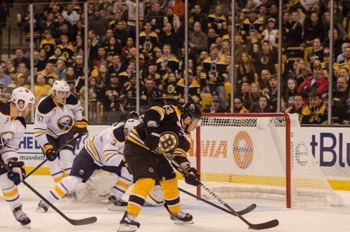 Buffalo Sabres vs Boston Bruins game