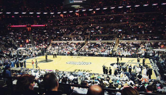 San Antonio Spurs vs Oklahoma City Thunder game