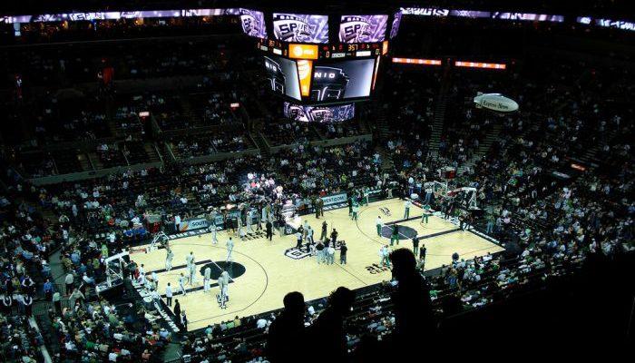 San Antonio Spurs game at ATT Center