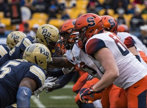 Syracuse Orange vs Pittsburgh Panthers football game