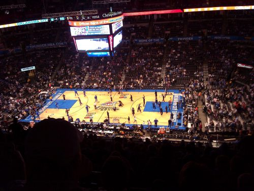 Oklahoma City Thunder vs Dallas Mavericks game