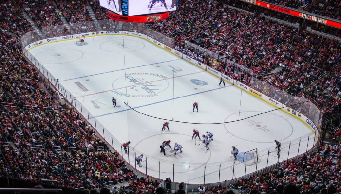 Washington Capitals game against the Montreal Canadiens