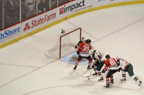 Chicago Blackhawks vs Minnesota Wild game