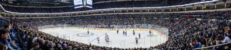 MTS Centre WinnipegJets game