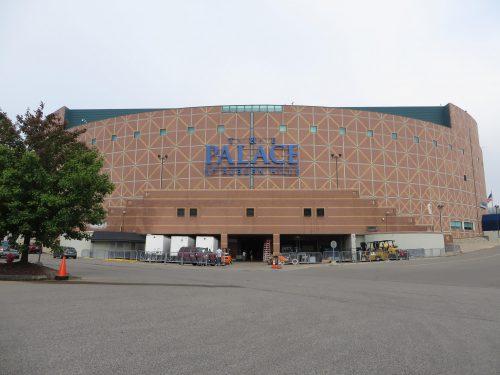 Palace of Auburn Hills Detroit Pistons