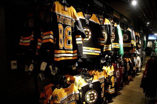 Boston Bruins pro shop
