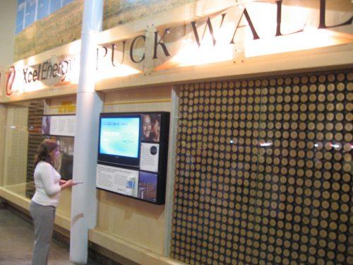 Puck Wall Xcel Energy Center