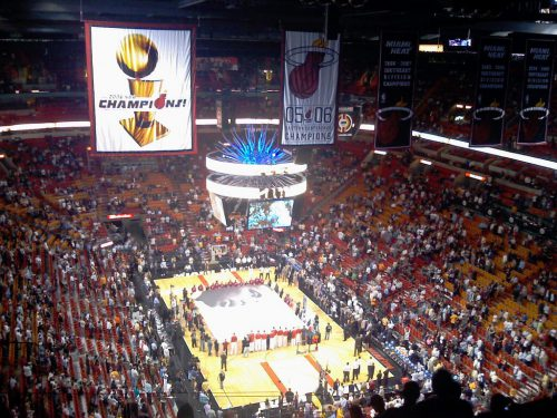 Miami Heat banners