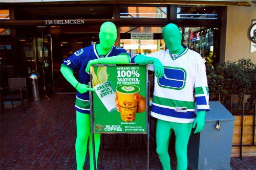 Green Men Vancouver Canucks