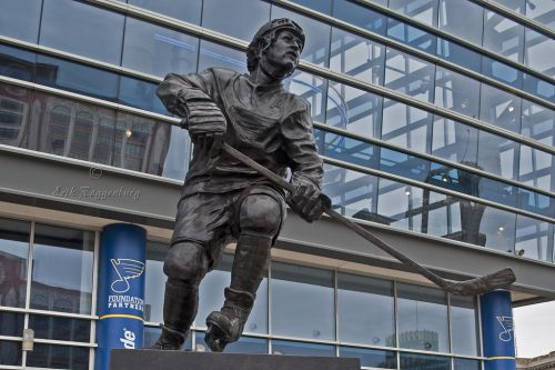 St Louis Blues Statue
