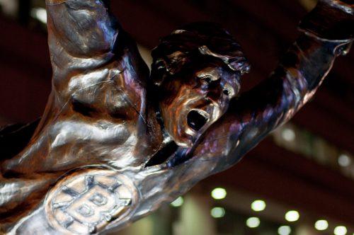 Bobby Orr Statue Boston Bruins