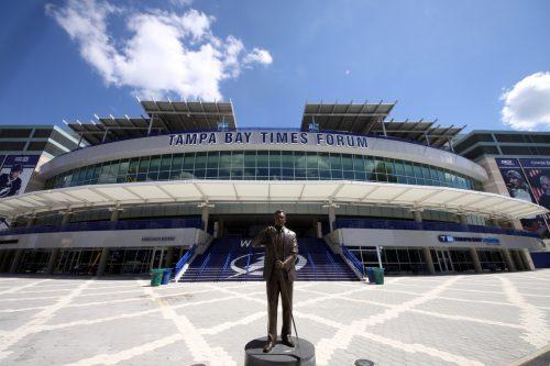 Phil Esposito Statue Tampa Bay Times Forum