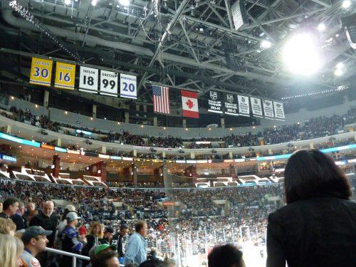 banners Los Angeles Kings