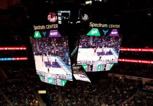 Spectrum Center Scoreboard
