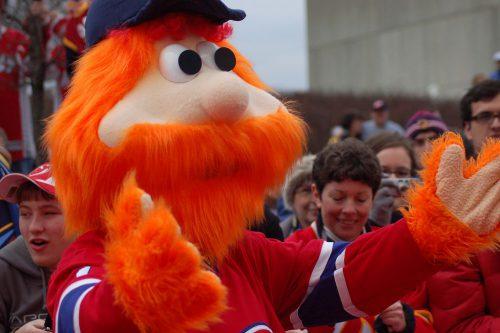 Montreal Canadiens mascot Youppi
